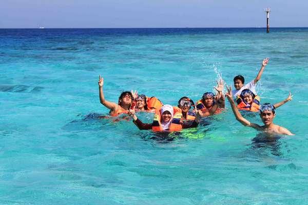 Lokasi Pulau Tidung